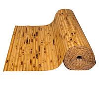 """Бамбуковые обои """"Черепаха"""" комбинированная 12+8 мм, ширина рулона 90 см (2,08 м.п.)"""