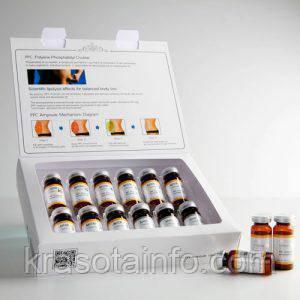 Концентрат антицеллюлитный для дермаштампа, жиросжигающий MATRIGEN PPC Ampoule, Корея, Набор 12ампул*10 мл