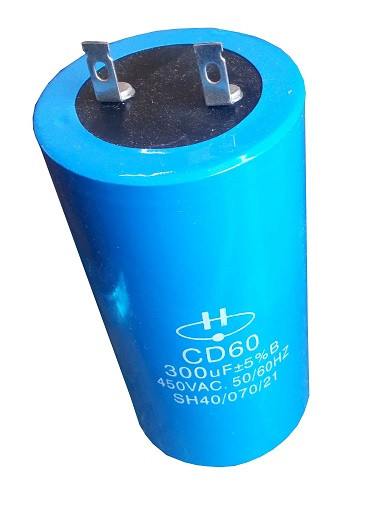 Конденсатор пусковой CD60 300мкФ 450В