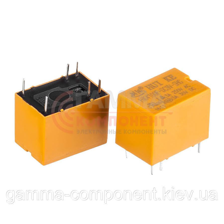 Реле JRC-21F, 3А, 12VDC/ контакты-1С