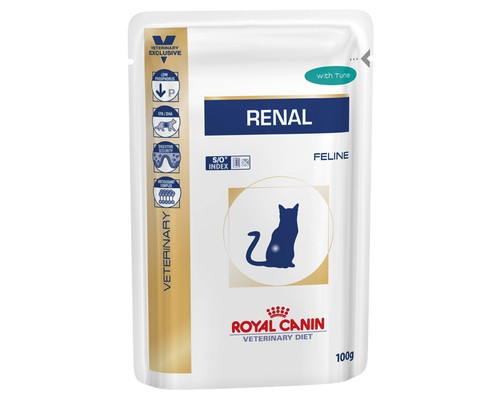 Royal Canin Renal Tuna Feline Консервы для кошек при почечной недостаточности с тунцом 0,85г