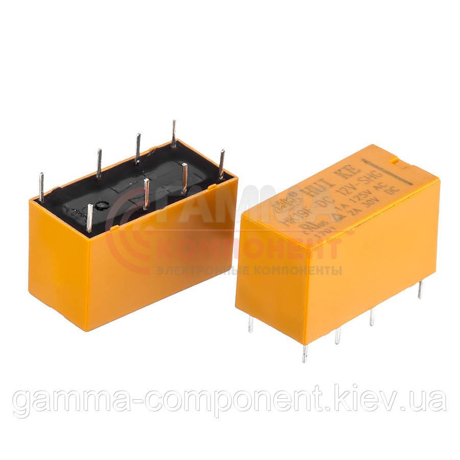 Реле JRC-19F(4078), 2А, 12VDC/ контакты-2С