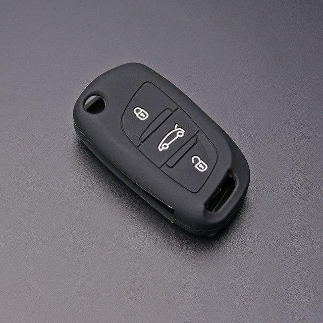 Чехол для ключа Peugeot 1007,107,108,2008 ,206,207,208,3008, 301,307,308,4008,406,407,408 ,5008,508,partner