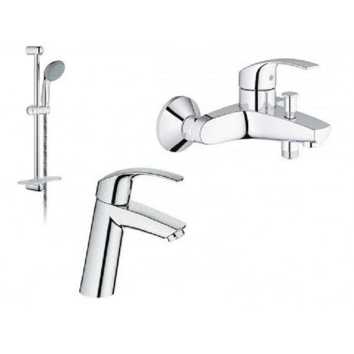 Grohe Eurosmart Набор для смесителей ванны арт.123246M