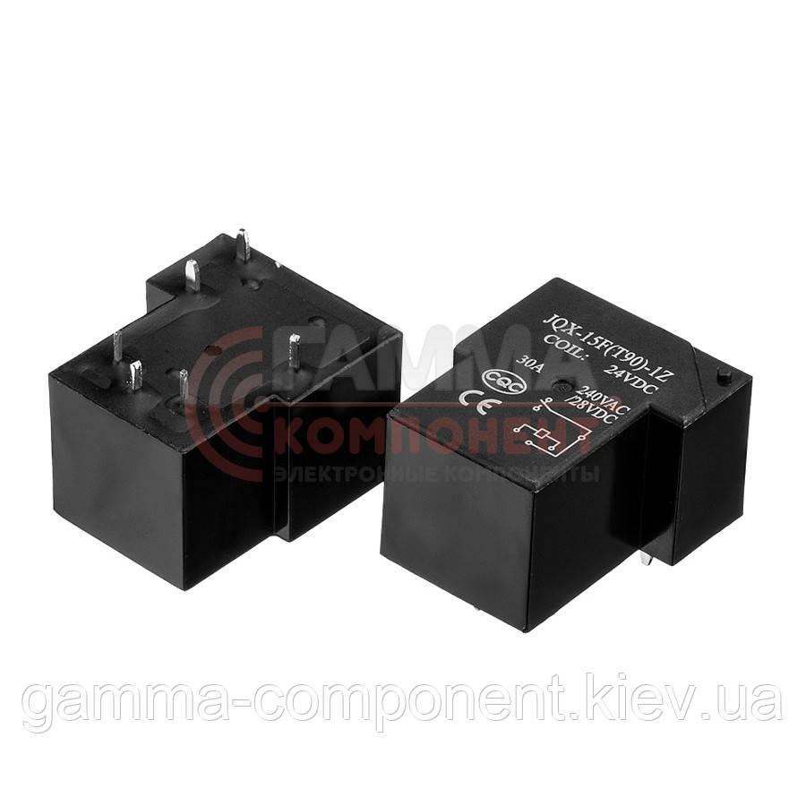 Реле JQX-15F(T90), 10А, 12VDC/ контакты-1С