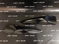 Накладки клыки переднего бампера Mazda 6 2013-2013 var 2, фото 1