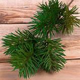 Зелена гілка сосни 45 см Новорічний декор, фото 2