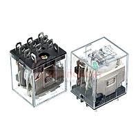 Реле JQX-13F, 10А, 220VDC/ контакты-3С