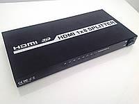 HDMI сплитер H18A Full HD 3D 1080P HDMI 1.3 4K х 2К 1 в 8 Splitter