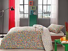 Набор подросткового постельного белья TAC Graffiti Scull (простынь на резинке)