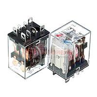 Реле JQX-13F, 10А, 220VDC/ контакты-2С