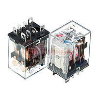 Реле JQX-13F, 10А, 24VDC/ контакты-2С