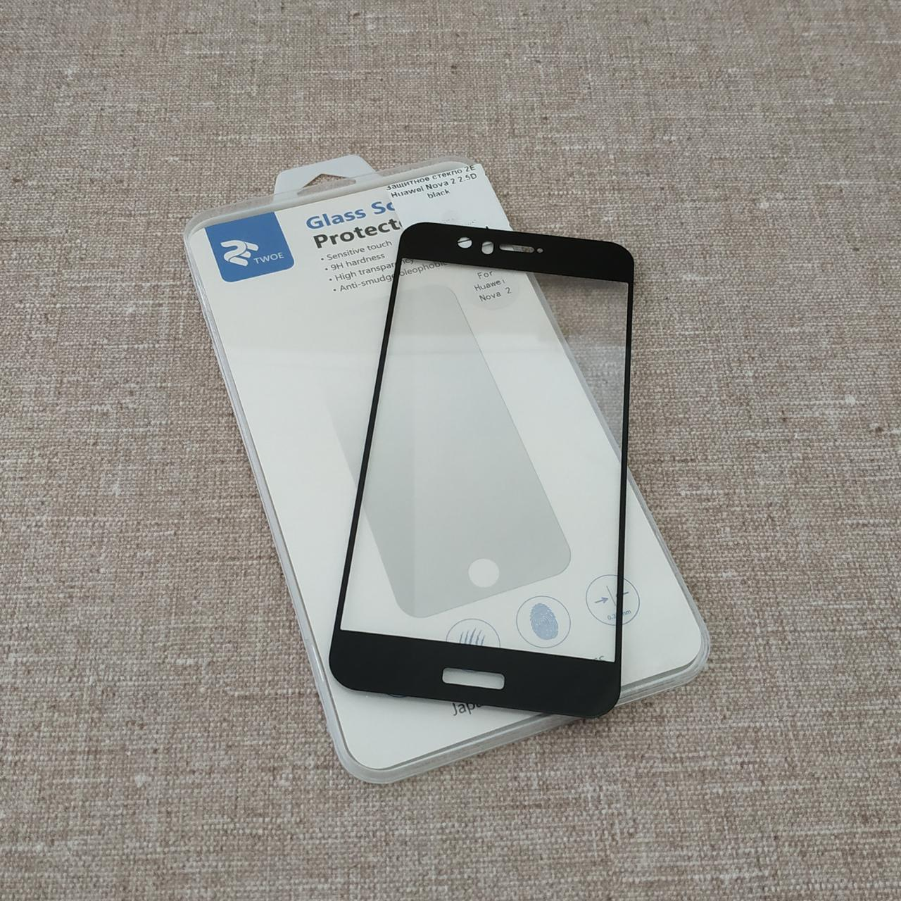 Защитное стекло 2E Huawei Nova 2 2.5D black (2E-TGHW-N2) EAN/UPC: 680051626154