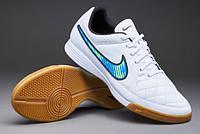 Футзальная обувь Nike Tiempo Genio Leather Indoor