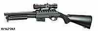 Ружье Double Eagle M47A1 с пульками,лазер,прицел,утяжеленный, детское оружие