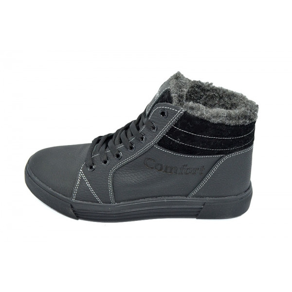 Кроссовки зимние на меху SAV Comfort 34 Black