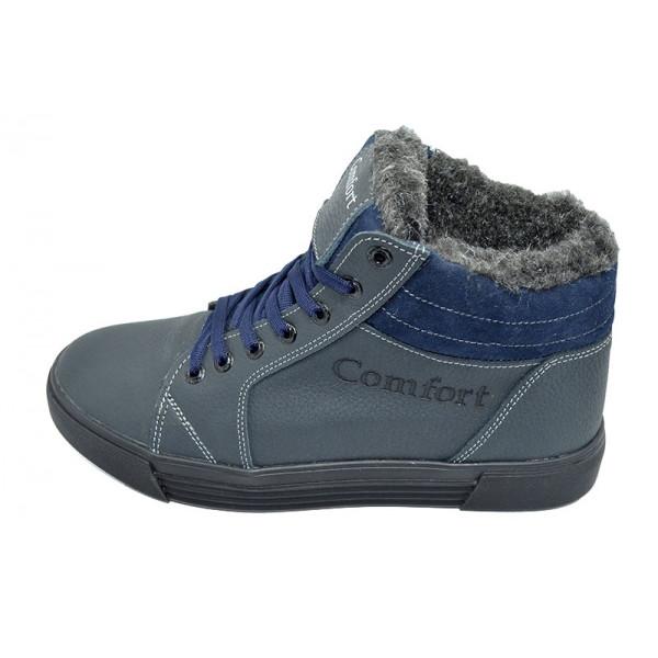 Кроссовки зимние на меху SAV Comfort 34 Blue