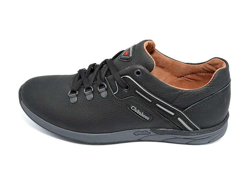 Кроссовки кожаные Clubshoes MTH1 Black