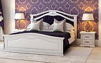 Деревянная кровать Маргаритта  (ольха)