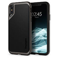 Чехол Spigen для iPhone XS Neo Hybrid, Gunmetal (063CS24918)