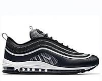 """Кросівки чоловічі Nike Air Max 97 """"Ultra Black Grey"""" (в стилі найк аір макс 97), фото 1"""