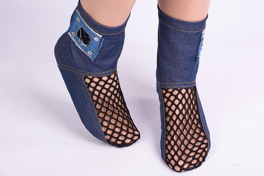 Тапочки - носочки Стиль. Размер 18 - 45