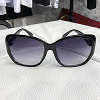 Chanel Sunglasses Butterfly Bow Polarized 1329 Black