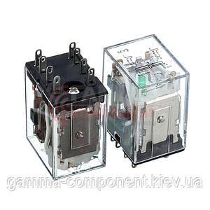 Реле HH52P, 7А,  24VDC/ контакты-2С