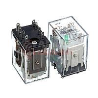 Реле HH52P, 7А, 12VDC/ контакты-2С