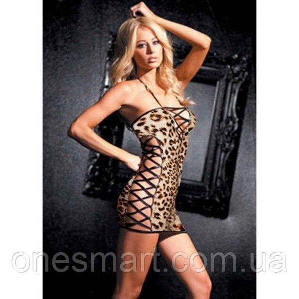 РОЗПРОДАЖ! Леопардовий пенюар