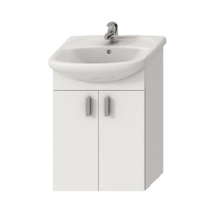 Jika Lyra Мебельный комплект (умывальник + тумба), цвет белый 502 x 292 x 708 арт.4519514323001