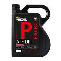 Масло трансмиссионное BIZOL ATF                                                             (BIZOL Protect ATF DIII) 5л