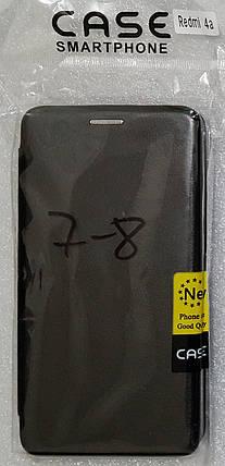 Чохол книжка LEVEL (Kira) Xiaomi Redmi 4a black, фото 2