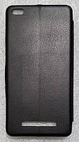 Чохол книжка LEVEL (Kira) Xiaomi Redmi 4a black, фото 3