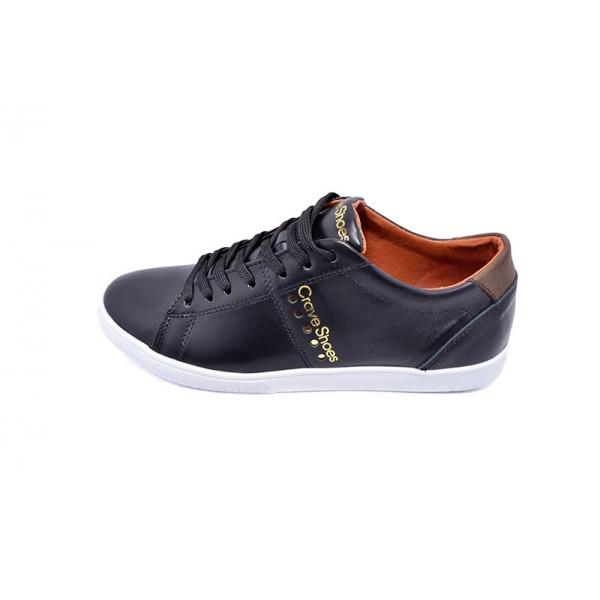 Мокасины мужские Crave Shoes CK 9641 Black