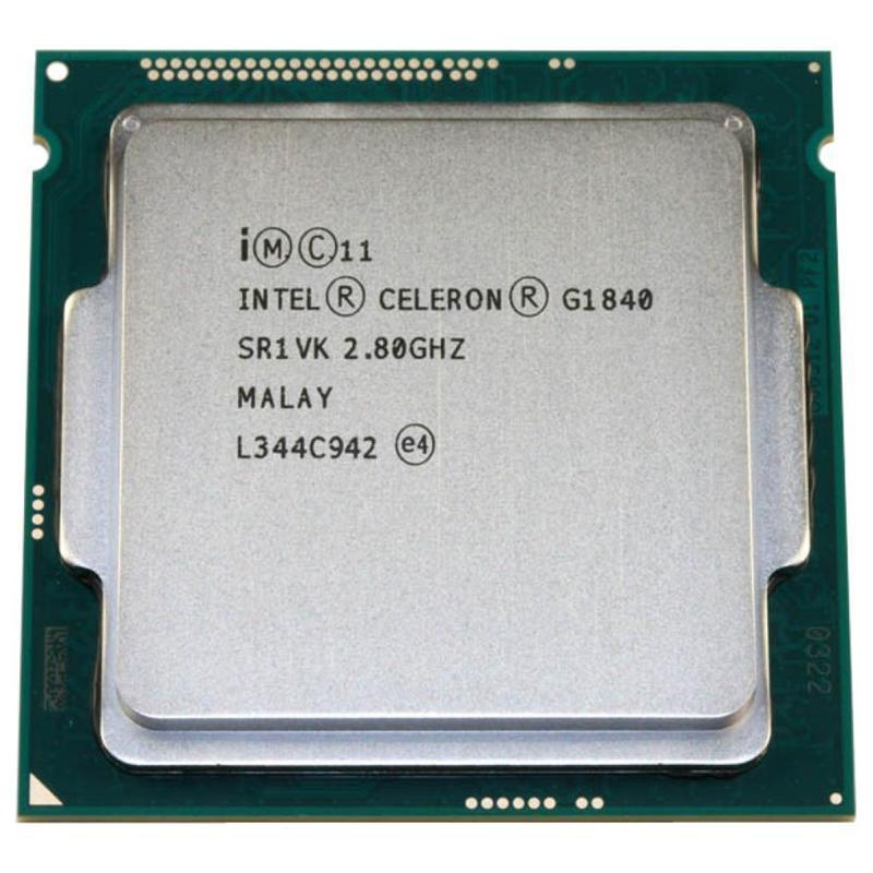 Процессор Intel Celeron G1840 2.8GHz (2MB, Haswell, 53W, S1150) Tray (CM8064601483439) (с разборки)