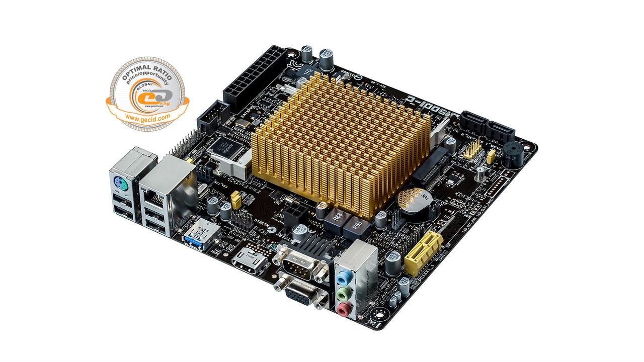 Материнская плата Asus J1900I-C Mini ITX