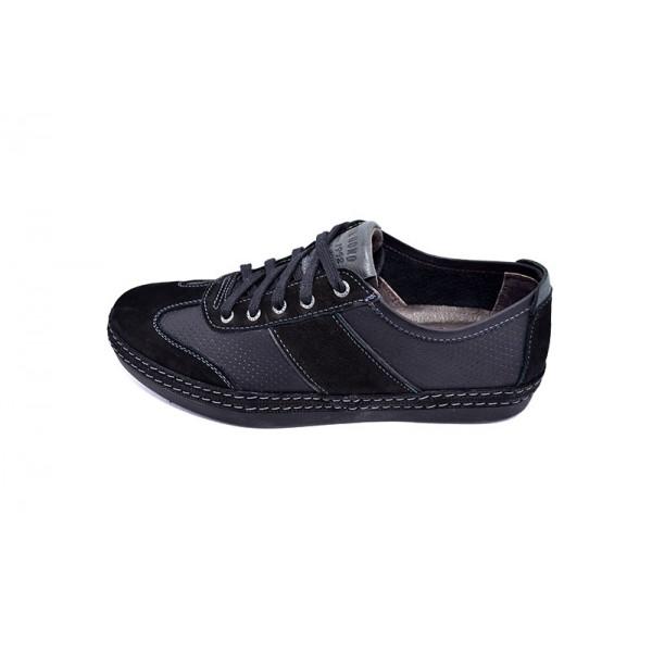 Мокасины мужские Detta TW 735 Black