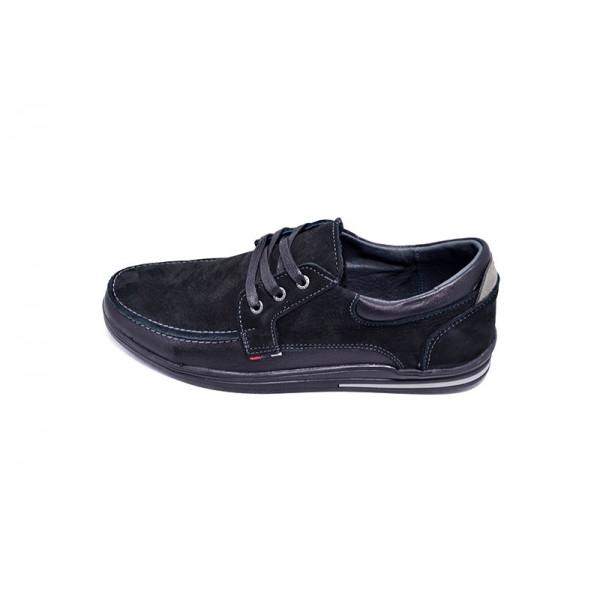 Мокасины мужские Multi-Shoes Vito NS 9625 Black