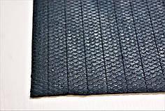 """Резина подметочная для обуви """"ЧЕШУЯ"""" 500*500 т.2,0 мм. черн."""
