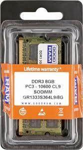 Модуль памяти SO-DIMM 8Gb/1333 DDR3 GOODRAM (GR1333S364L9/8G)