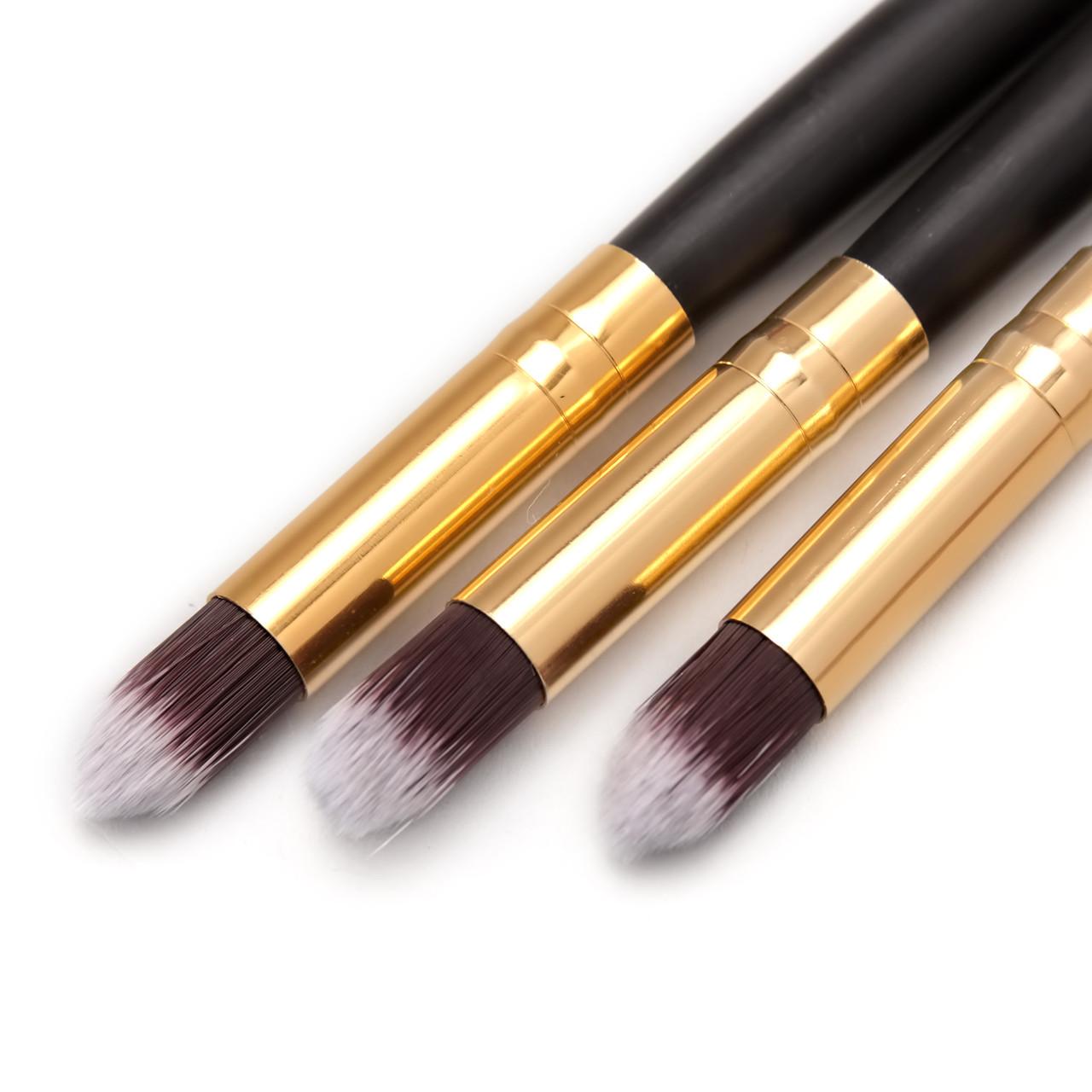 Набор кистей для макияжа MAC Beauty MakeUp Series Qualidade Profissonal 3 в 1
