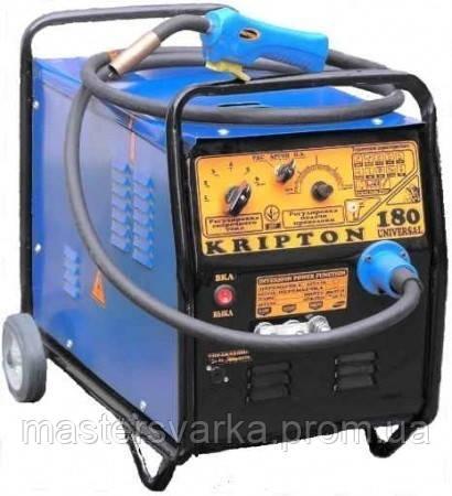 Сварочный полуавтомат Kripton 180 universal+охлаждение+медная дополнительная обмотка