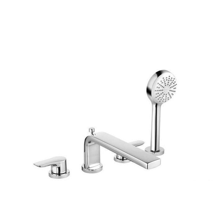 Kludi TERCIO Смеситель на борт ванны, 4 отверстия арт.384230575