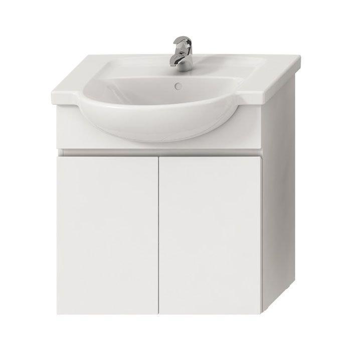 Jika Lyra Тумба для умывальника, цвет белый 670 x 315 x 696 арт.4531410383001