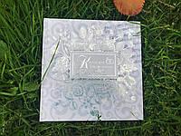 Свадебная книга для пожеланий РУС №1002, 20х20 см