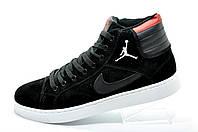 Зимние Кроссовки в стиле Nike Air Jordan Retro на меху, (Аир Джордан)