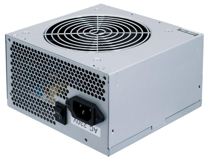Блок Питания Chieftec GPA-400S8, ATX 2.3, APFC, 12cm fan, КПД >80%, bulk