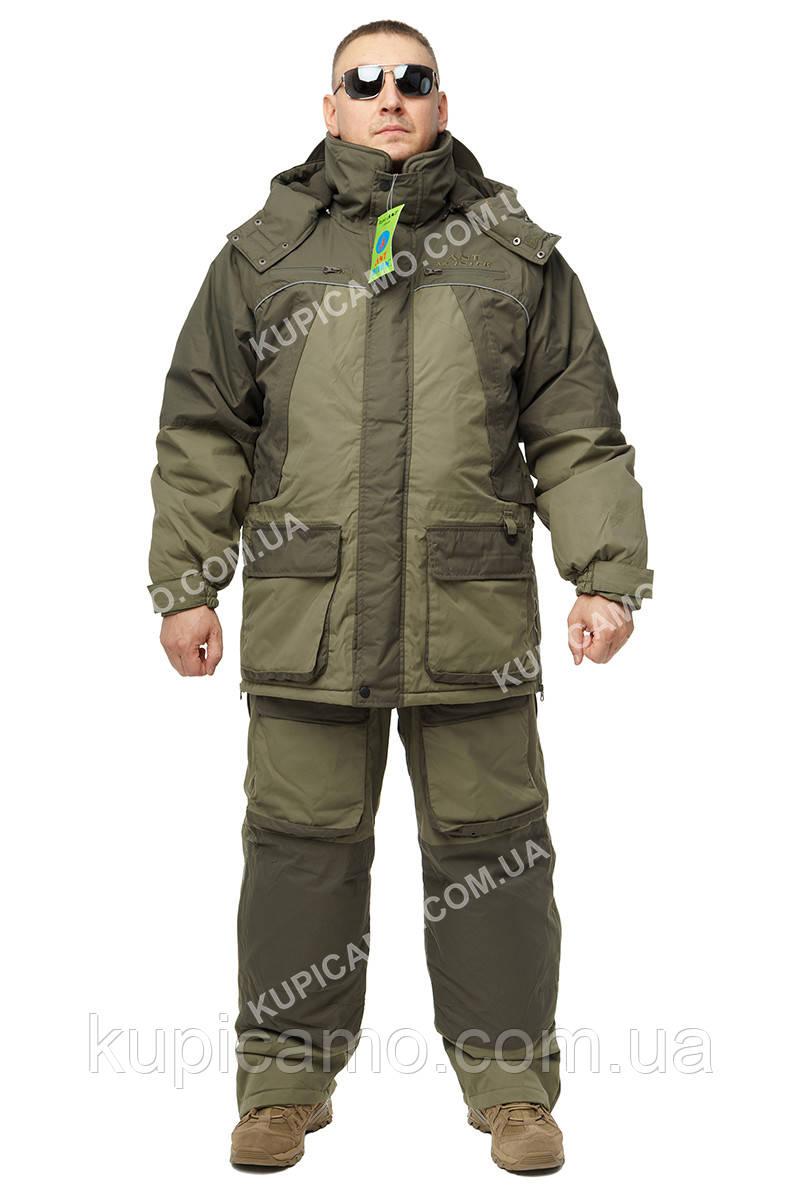 """Зимний костюм для рыбаков и охотников -35  """"ANT"""" Олива хаки"""