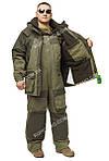"""Зимний костюм для рыбаков и охотников -35  """"ANT"""" Олива хаки, фото 5"""